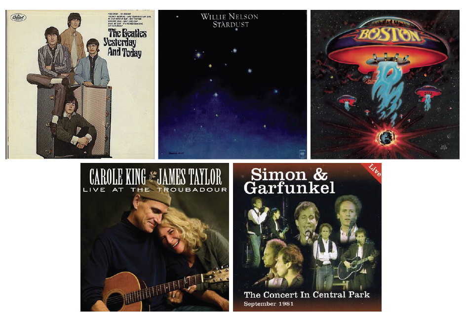 Randy Pennington - 5 Albums to be Stranded With